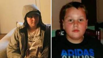 two children missing after boarding train in ayrshire
