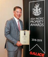 sansiri's 98 wireless luxury condominium awarded with residential property award for thailand in annual asia pacific property awards 2018
