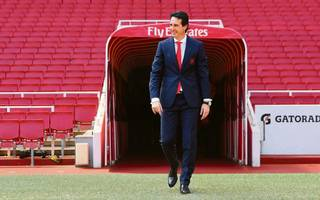 unai emery: i'll be demanding to drag arsenal back to top