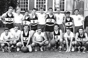 youth club basketball players travelled to haarlem for 1950 tournament