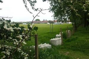 travellers pitch up on playing fields metres away from hull primary school
