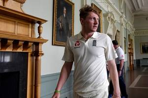 somerset's dom bess to make england debut against pakistan at lord's