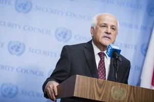 Palestinians join two UN agencies, chemical weapons treaty