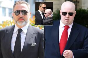 david walliams and matt lucas reunited after 'seven-year feud' as paths cross at dale winton's funeral