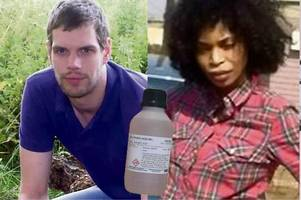 jilted lover whose ex-boyfriend ended life at euthanasia clinic after she threw acid over him is jailed for life