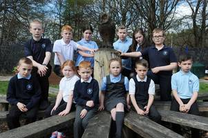 Primary school pupils fight to save beloved wooden owl in memory of janitor