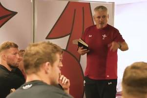 inside the wales dressing room: the first thing warren gatland said to his squad ahead of south africa and argentina clashes