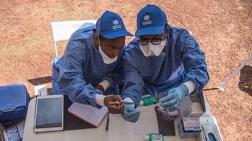 ebola outbreak in dr congo: patients 'taken to church'