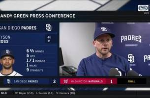 andy green: 'it was a good 4-3 east coast swing for us'