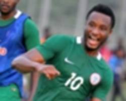 mikel delighted after joining nigeria world cup camp