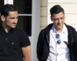 ozil & gundogan not playing politics with erdogan picture, says low