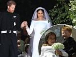 Meghan Markle and Prince Harry's wedding recreated by toddlers