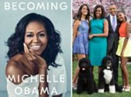 michelle obama reveals the cover of her new memoir becoming and shares never-before-seen photos
