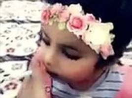 saudi father is arrested after forcing daughter to smoke cigarette