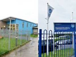 Staffordshire schools on lockdown and children made to hide under desks