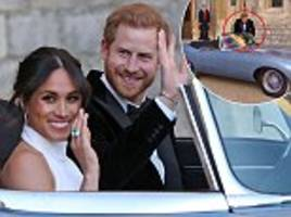 royal watchers praise meghan markle for opening prince harry's door