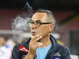 chelsea want maurizio sarri, the chain-smoking inventor of 'sarri-ball' who has a fan in guardiola