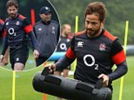 danny cipriani trains with england for the first time since recall