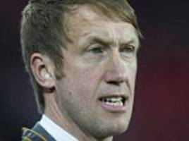 graham potter insists he is focused on ostersund despite swansea speculation