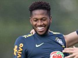 man united and city target fred will decide on future after world cup
