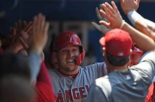 recap: ohtani, trout, pujols lead angels to 8-1 victory over blue jays