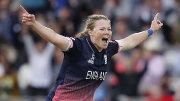 england's world cup champions win prize at women's sport trust awards
