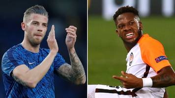 toby alderweireld and fred among man utd transfer targets