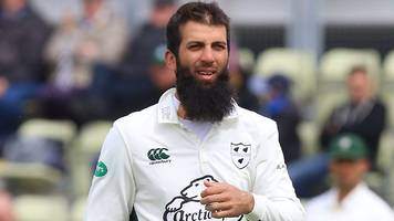 moeen ali: worcestershire all-rounder set to make first county appearance since june last year