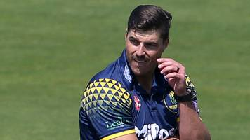 one-day cup: glamorgan bowler marchant de lange out of kent game