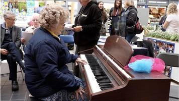 alzheimer's woman's first piano recital in newcastle