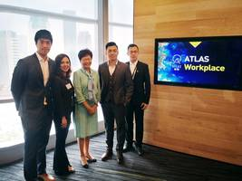 Hong Kong Chief Executive Carrie Lam Visits ATLAS Workplace