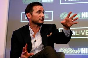 frank lampard opens up about his ambitions to become a football manager
