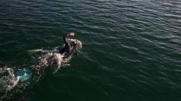 ben lecomte to attempt 5,500-mile swim across pacific ocean for plastic pollution awareness - can lecomte become the first person to ever swim from tokyo to california?