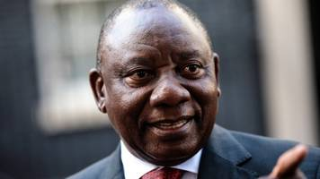 South Africa's Ramaphosa gives half his pay to Mandela charity