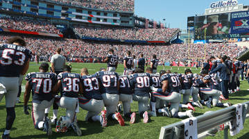 President Trump Supports New NFL National Anthem Policy