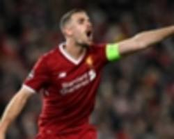 liverpool motivated by europa league pain - henderson