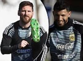 argentina, germany and france stars train for world cup 2018