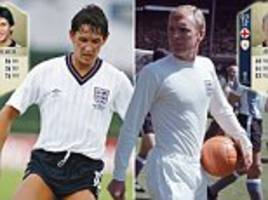 fifa 18 world cup ratings: icons will feature with four new cards including two england legends