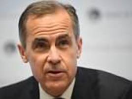 carney hints at rates cut if brexit is 'disorderly'