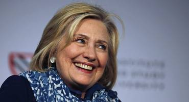 hillary clinton jokes that she wouldn't mind being ceo of facebook (fb)