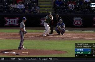 WATCH: Baylor RBI Double adds to lead | Big 12 Baseball Tournament