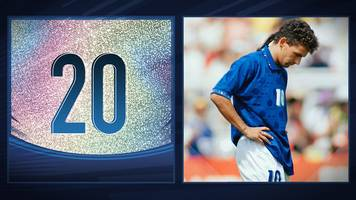 50 Great World Cup moments: Roberto Baggio's missed penalty - 1994