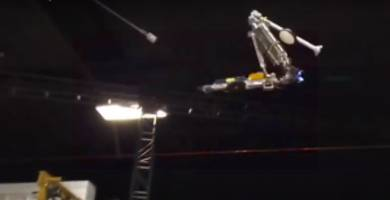 Disney Researchers Built An Acrobatic, Backflipping Robot