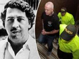 former hitman for drug kingpin pablo escobar re-arrested in colombia in extortion investigation