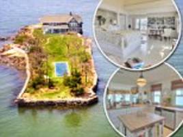 incredible potato island private retreat off the coast of connecticut on sale for just $4.9million