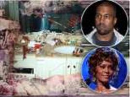 whitney houston's cousin hits back at kanye west for using photo for album