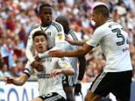 aston villa 0-1 fulham: cottagers captain tom cairney the hero