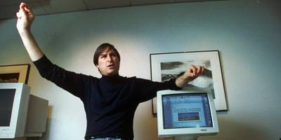 watch a recently rediscovered steve jobs lecture where he talks about leaving apple and what he's learned about management (aapl)
