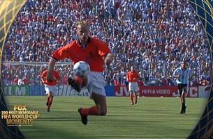 19th most memorable fifa world cup moment: dennis bergkamp's immaculate winner