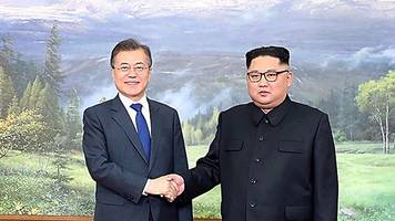 korean leaders in 'hollywood' meeting